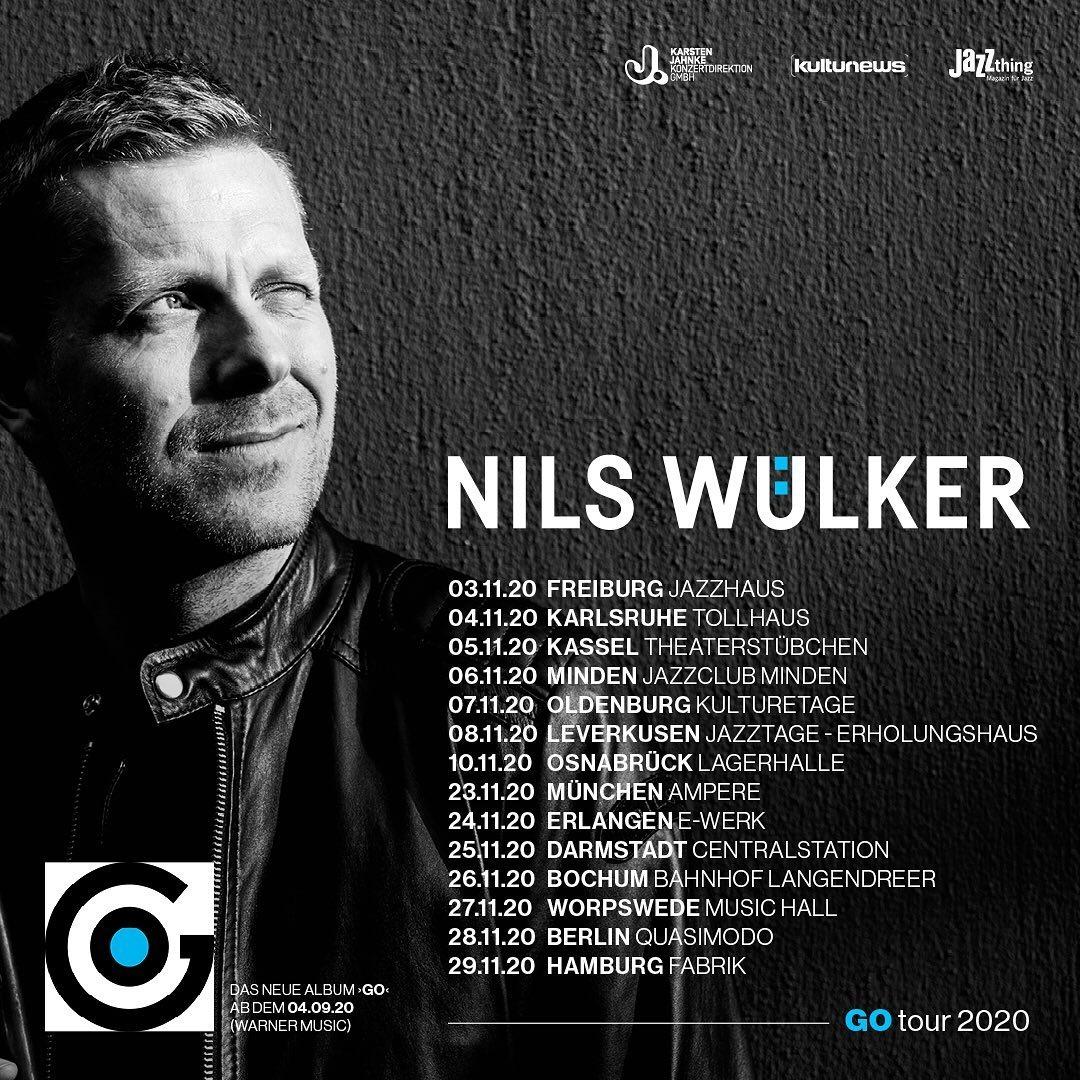 """Nils Wülker """"GO"""", VÖ 04.09.2020"""